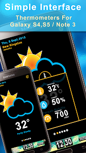 Weather Rise Clock 30+ Widgets screenshot 2