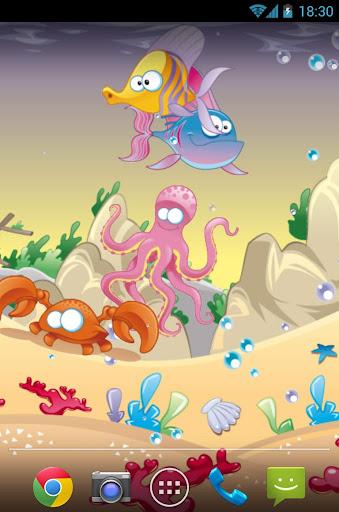 玩免費個人化APP|下載海底世界动态壁纸 app不用錢|硬是要APP