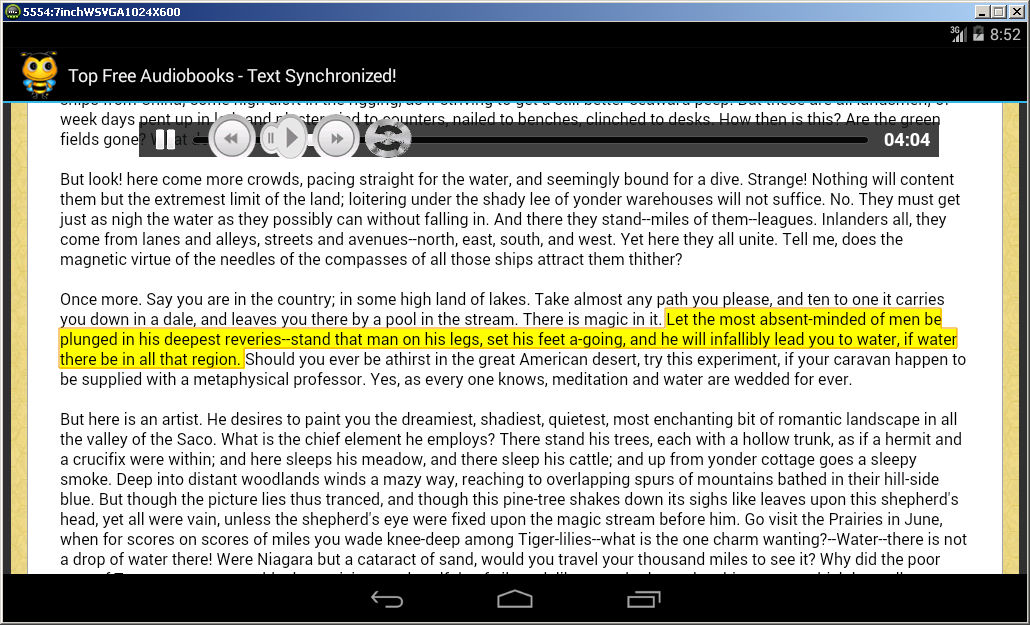 Reading Bee Audiobooks Premium- screenshot
