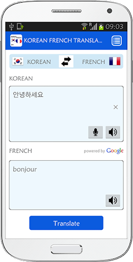 Korean French Translator
