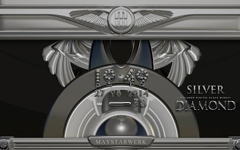 Digi Clock Widget Silver Diamond v2.70 [Paid] APK 5