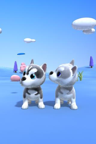 Talking Husky Dog - screenshot