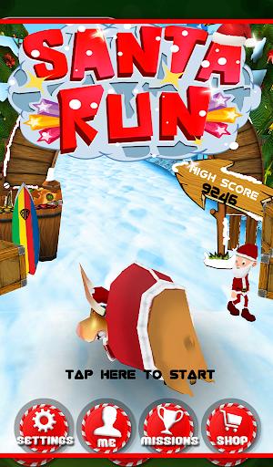 圣诞老人冲浪冒险