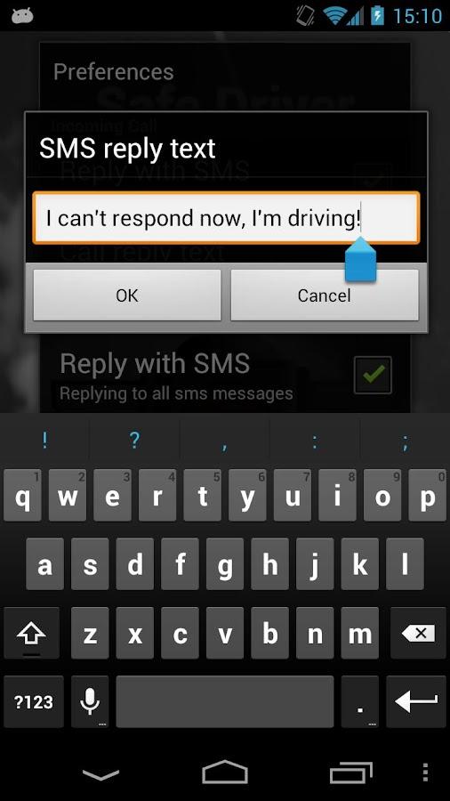 Safe Driver- screenshot