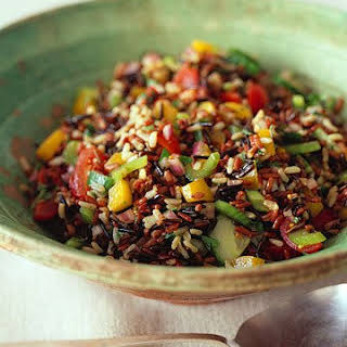 Wild and Brown Rice Salad.