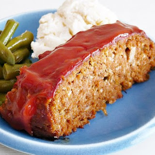 Family Style Meatloaf With Mashed Potatoes Recipe by Ezra Pound Cake