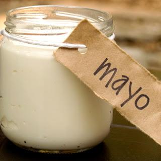 Homemade Paleo Olive Oil Mayo