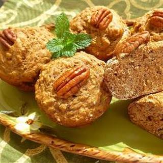 Dietetic Banana Nut Muffins.