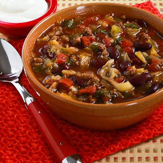 Cabbage Ground Beef And Kidney Bean Soup Recipes.