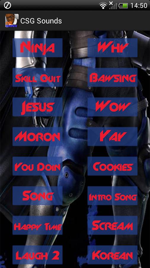CSG Sounds - screenshot