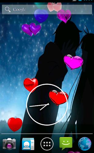 I Love You Live Wallpaper Android App Screenshot