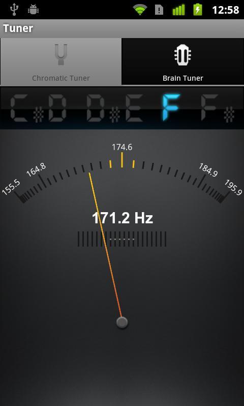 Ultimate Guitar Tuner- screenshot