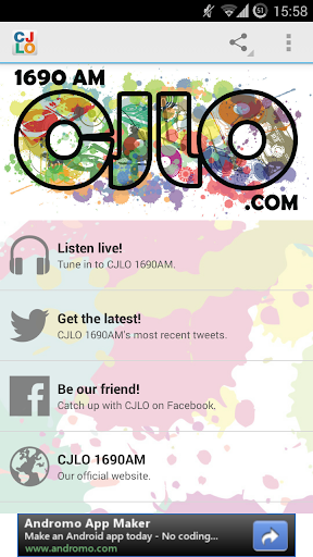 CJLO 1690AM for Android