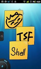 TSF Notepad Widget Screenshot 2