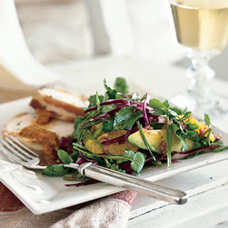Watercress, Orange, and Avocado Salad
