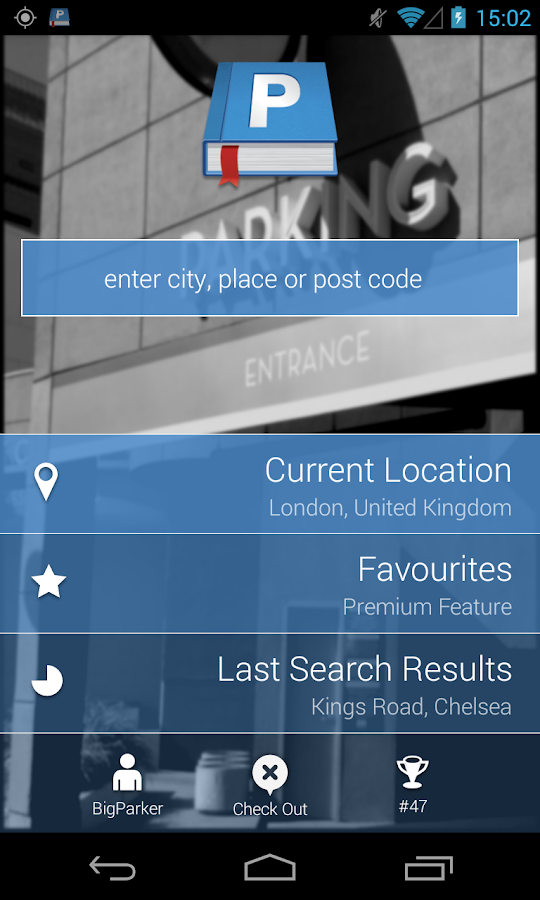 Parkopedia Parking- screenshot