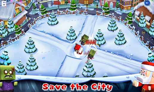Santa The Zombie Hunter- screenshot thumbnail