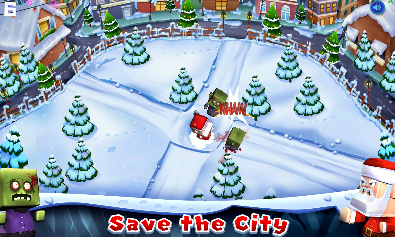 Santa The Zombie Hunter- screenshot