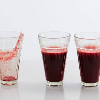 Vitality Beetroot & Nectarine Juice.