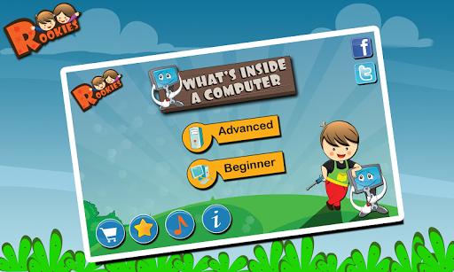Rookies Computer Free Kids App