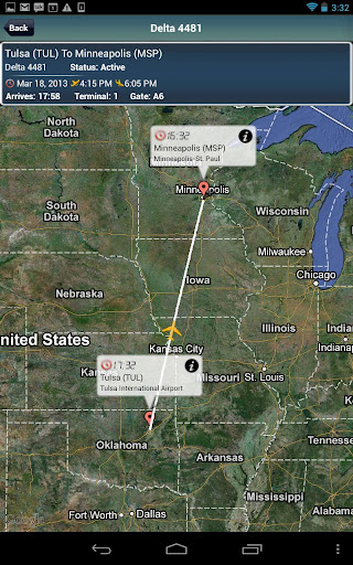 Minneapolis Airport MSP Radar