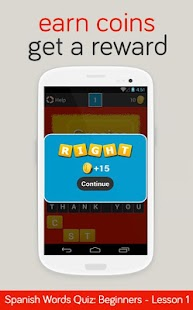 Spanish Words Quiz - Beg 1 - screenshot thumbnail