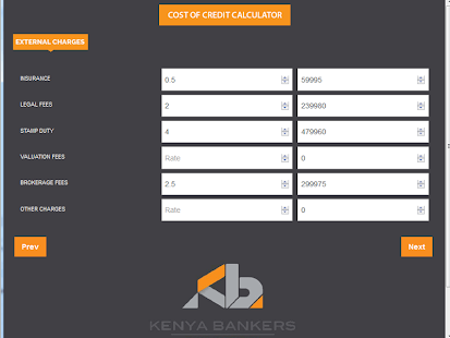 Cost of Credit Calculator- screenshot thumbnail