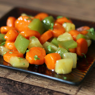 Sweet and Sour Carrots With Pineapple