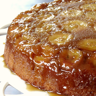 Banana Upside Down Cake.