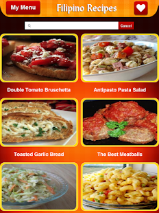 Filipino food recipes apps on google play screenshot image forumfinder Choice Image