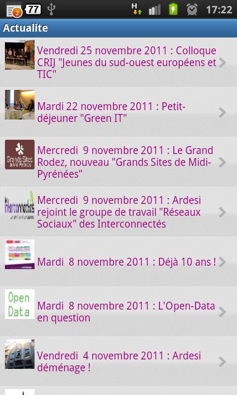 Ardesi- screenshot