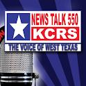 News Talk 550 KCRS logo