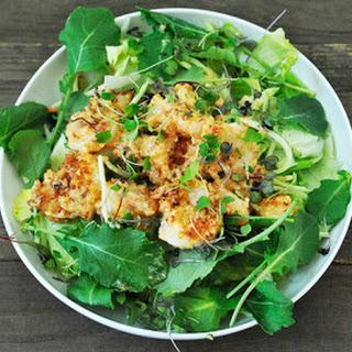 Lightened-Up Bang Bang Shrimp Salad