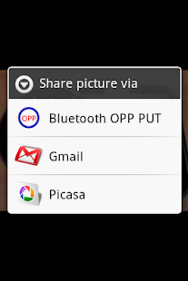 Bluetooth OPP PUT for 2.x Lite - screenshot thumbnail