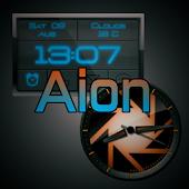Aion-Zooper clock widget pack
