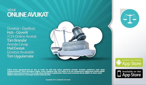 【免費商業App】Online Avukat-APP點子