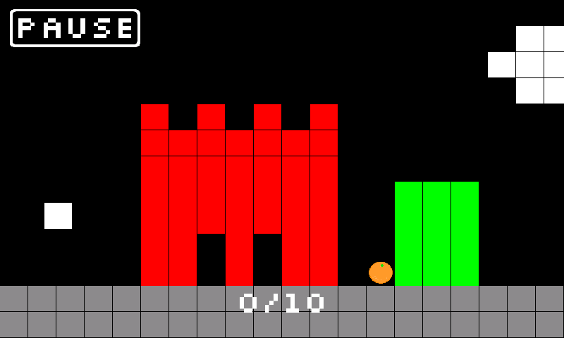 PING - 8bit Retro Pong Puzzler- screenshot