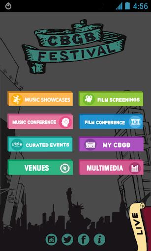 CBGB Music Film Festival