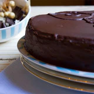 Sachertorte (German Chocolate Cake).