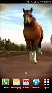 玩個人化App Horses 3D Live Wallpaper免費 APP試玩