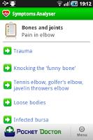 Screenshot of Pocket Doctor Pro