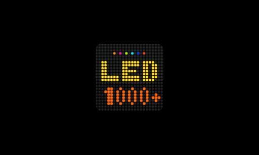 LED Scroller - LED Board