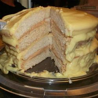 Gold and Silver Cake