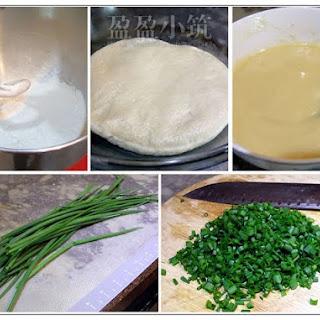 Taiwanese Spring Onion Pancake/Scallion Pancake (葱油饼).