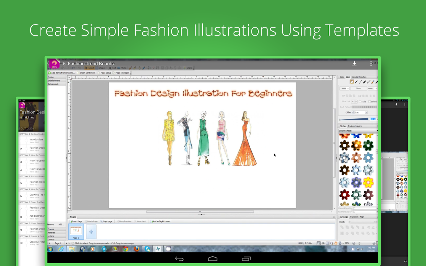 Free Online Clothing Design Software Fashion Design Illustration