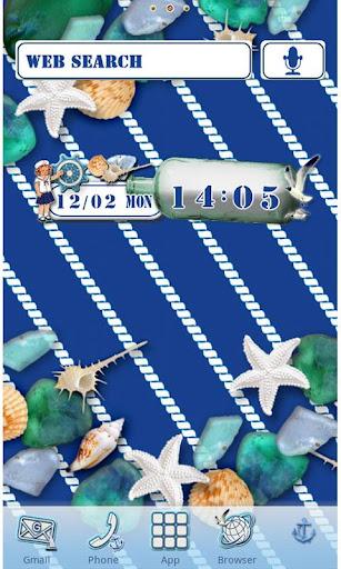 Deep Marine Blue Wallpaper 1.1 Windows u7528 1