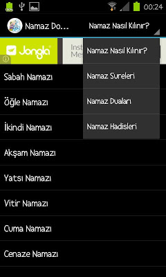 Namaz Dostu - screenshot