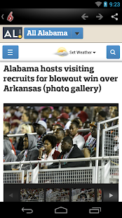 Crimson Tide News - screenshot thumbnail