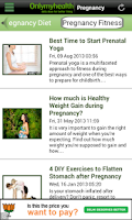 Screenshot of Pregnancy Care