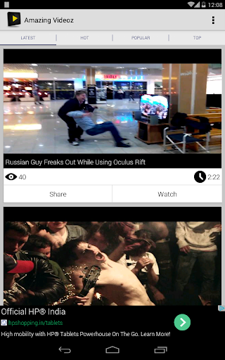 【免費媒體與影片App】Amazing Videoz-APP點子